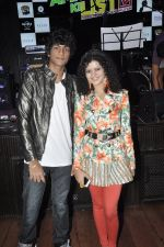 Palak Muchhal, Palaash Muchhal at Amit Sahni Ki List music launch in Hard Rock Cafe, Andheri, Mumbai on 18th June 2014 (5)_53a2d362a4659.JPG