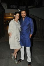 Riteish Deshmukh, Genelia Deshmukh at Saif Ali Khan_s party in Bandra, Mumbai on 19th June 2014 (7)_53a3fb76c93a3.JPG
