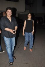 Sajid Khan, Genelia D_souza at Humshakals screening on 21st June 2014 (15)_53a6ba1847428.JPG