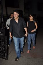 Sajid Khan, Genelia D_souza at Humshakals screening on 21st June 2014 (17)_53a6ba18c6c8d.JPG