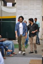 Arjan Bajwa snapped promoting Bobby Jasoos in Bandra on 25th June 2014 (18)_53ad21e39a9b2.JPG