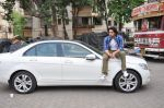 Arjan Bajwa snapped promoting Bobby Jasoos in Bandra on 25th June 2014 (20)_53ad21e4d8fa5.JPG