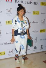 Little Shilpa at Rahul Mishra celebrates 6 years in fashion with Grazia in Taj Lands End on 26th June 2014 (388)_53ad77b66670b.JPG