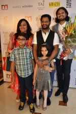 Resul Pookutty at Rahul Mishra celebrates 6 years in fashion with Grazia in Taj Lands End on 26th June 2014 (380)_53ad77c5d78c0.JPG