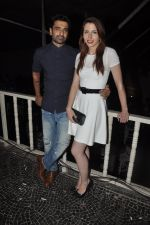 Eijaz Khan and Natalie at Vivian Dsena_s birthday party in Villa 69, Mumbai on 28th June 2014_53b29f4799837.jpg