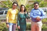 Priti Sharma, Sidhant Singh On location shooting of film Hume Toh Loot Liya in Mumbai on 30th June 2014 (80)_53b276376b497.JPG