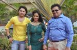 Priti Sharma, Sidhant Singh On location shooting of film Hume Toh Loot Liya in Mumbai on 30th June 2014 (81)_53b275c36521a.JPG