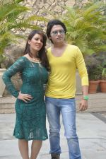 Priti Sharma, Sidhant Singh On location shooting of film Hume Toh Loot Liya in Mumbai on 30th June 2014 (85)_53b27638754c4.JPG