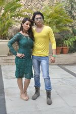 Priti Sharma, Sidhant Singh On location shooting of film Hume Toh Loot Liya in Mumbai on 30th June 2014 (87)_53b27638ef3c5.JPG