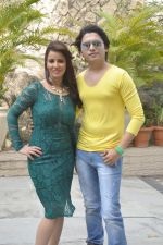 Priti Sharma, Sidhant Singh On location shooting of film Hume Toh Loot Liya in Mumbai on 30th June 2014 (90)_53b2763a08e2b.JPG