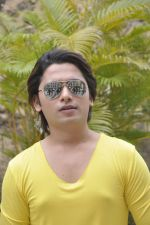 Sidhant Singh On location shooting of film Hume Toh Loot Liya in Mumbai on 30th June 2014 (35)_53b276503cae6.JPG