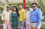 Surendra Varma, Priti Sharma, Sidhant Singh, Tinu Anand, Satyendra Thakur On location shooting of film Hume Toh Loot Liya in Mumbai on 30th June 2014 (74)_53b2763feaa30.JPG