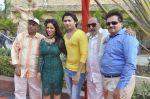 Surendra Varma, Priti Sharma, Sidhant Singh, Tinu Anand, Satyendra Thakur On location shooting of film Hume Toh Loot Liya in Mumbai on 30th June 2014 (76)_53b275c6c89b9.JPG