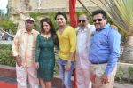 Surendra Varma, Priti Sharma, Sidhant Singh, Tinu Anand, Satyendra Thakur On location shooting of film Hume Toh Loot Liya in Mumbai on 30th June 2014 (79)_53b276b8e160d.JPG