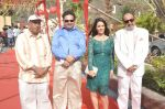 Surendra Varma, Priti Sharma, Tinu Anand, Satyendra Thakur On location shooting of film Hume Toh Loot Liya in Mumbai on 30th June 2014 (65)_53b276f100c3e.JPG