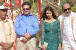 Surendra Varma, Priti Sharma, Tinu Anand, Satyendra Thakur On location shooting of film Hume Toh Loot Liya in Mumbai on 30th June 2014 (68)_53b275c7d87ee.JPG