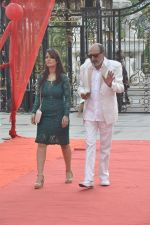Tinu Anand, Priti Sharma On location shooting of film Hume Toh Loot Liya in Mumbai on 30th June 2014 (63)_53b275c9b493d.JPG