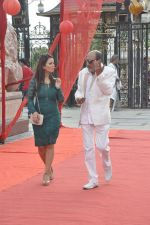 Tinu Anand, Priti Sharma On location shooting of film Hume Toh Loot Liya in Mumbai on 30th June 2014 (65)_53b275ca49a1d.JPG