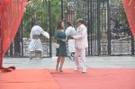 Tinu Anand, Priti Sharma On location shooting of film Hume Toh Loot Liya in Mumbai on 30th June 2014 (70)_53b275cb6c4e8.JPG