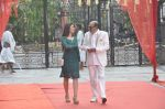 Tinu Anand, Priti Sharma On location shooting of film Hume Toh Loot Liya in Mumbai on 30th June 2014 (72)_53b275cbea460.JPG