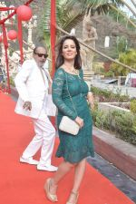 Tinu Anand, Priti Sharma On location shooting of film Hume Toh Loot Liya in Mumbai on 30th June 2014 (79)_53b275cd90e88.JPG