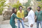 Tinu Anand, Priti Sharma, Sidhant Singh On location shooting of film Hume Toh Loot Liya in Mumbai on 30th June 2014 (19)_53b276410ff6f.JPG
