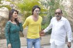 Tinu Anand, Priti Sharma, Sidhant Singh On location shooting of film Hume Toh Loot Liya in Mumbai on 30th June 2014 (20)_53b275cf2358e.JPG