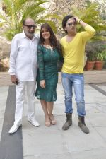 Tinu Anand, Priti Sharma, Sidhant Singh On location shooting of film Hume Toh Loot Liya in Mumbai on 30th June 2014 (26)_53b275d08ac63.JPG