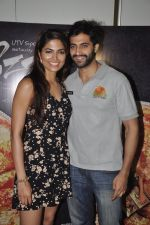 Akshay Oberoi, Parvathy Omanakuttan at Pizza film promotions in Chakala, Mumbai on 1st July 2014 (58)_53b3c2dfca130.JPG