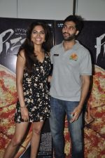 Akshay Oberoi, Parvathy Omanakuttan at Pizza film promotions in Chakala, Mumbai on 1st July 2014 (63)_53b3c2e14e79a.JPG