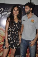 Akshay Oberoi, Parvathy Omanakuttan at Pizza film promotions in Chakala, Mumbai on 1st July 2014 (65)_53b3c2e1c6a32.JPG