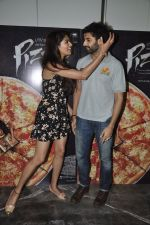 Akshay Oberoi, Parvathy Omanakuttan at Pizza film promotions in Chakala, Mumbai on 1st July 2014 (66)_53b3c2e24c5fc.JPG