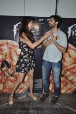 Akshay Oberoi, Parvathy Omanakuttan at Pizza film promotions in Chakala, Mumbai on 1st July 2014 (70)_53b3c2e34d000.JPG