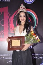 Koyal Rana at Indo American Trade Excellence Awards 2014 in Trident, Mumbai on 2nd July 2014 (25)_53b590e6e813d.JPG