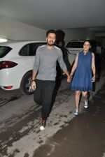 Riteish Deshmukh, Genelia Dsouza at Special Screening of Bobby Jasoos in Lightbox, Mumbai on 3rd July 2014 (187)_53b6949ae24b8.JPG