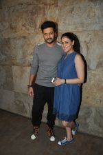 Riteish Deshmukh, Genelia Dsouza at Special Screening of Bobby Jasoos in Lightbox, Mumbai on 3rd July 2014 (193)_53b6949c7e6a4.JPG
