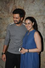 Riteish Deshmukh, Genelia Dsouza at Special Screening of Bobby Jasoos in Lightbox, Mumbai on 3rd July 2014 (195)_53b6949d4fdcf.JPG