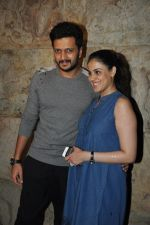 Riteish Deshmukh, Genelia Dsouza at Special Screening of Bobby Jasoos in Lightbox, Mumbai on 3rd July 2014 (199)_53b6949e76bf4.JPG