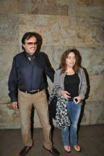 Sanjay Khan at Special Screening of Bobby Jasoos in Lightbox, Mumbai on 3rd July 2014 (27)_53b694d1ad0c0.JPG