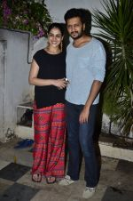 Riteish Deshmukh, Genelia D Souza at Ek Villain success bash in Bandra, Mumbai on 5th July 2014 (66)_53b9328a1f6df.JPG