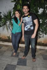 Shraddha Kapoor, Shaad Randhawa at Ek Villain success bash in Bandra, Mumbai on 5th July 2014 (58)_53b932b74a627.JPG