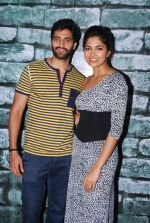 Parvathy Omanakuttan, Akshay Oberoi at the Promotion of Pizza at a mall in Malad on 11th July 2014 (14)_53c18124400f1.JPG