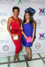 Manali Jagtap with Mugdha Godse at Manali Jagtap_s Couture Bridal collection in Mumbai on 13th July 2014 (2)_53c3abd61e722.JPG