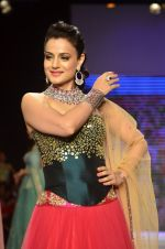 Ameesha Patel walks for Surya Golds at IIJW Day 1 in Grand Hyatt, Mumbai on 15th July 2014 (38)_53c66cc9a385a.JPG