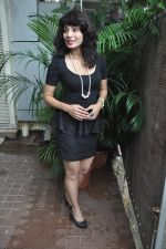 Manisha Kelkar at song recording in Mahada on 19th July 2014 (22)_53cc06c99cdce.JPG