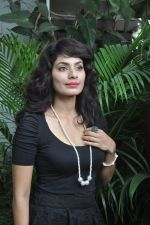 Manisha Kelkar at song recording in Mahada on 19th July 2014 (35)_53cc06e1df537.JPG