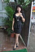 Manisha Kelkar at song recording in Mahada on 19th July 2014 (39)_53cc06eb40621.JPG