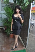 Manisha Kelkar at song recording in Mahada on 19th July 2014 (42)_53cc06fab4130.JPG