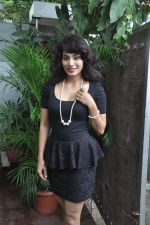 Manisha Kelkar at song recording in Mahada on 19th July 2014 (44)_53cc070054e19.JPG