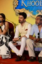Fawad Khan, Shashanka Ghosh at Khoobsurat trailor launch in Mumbai on 21st July 2014 (180)_53cd5d7fdd35f.JPG